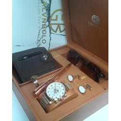 Calvin Polo brand men's watch set 5