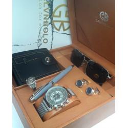 Calvin Polo brand men's watch set 4