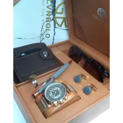 Calvin Polo brand men's watch set 6