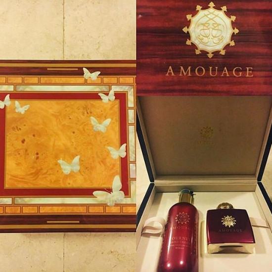 Amouage Journey perfume set for women 100 ml eau de parfum