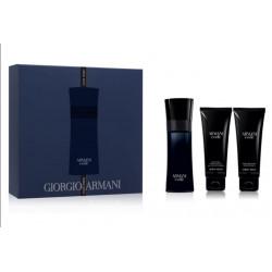 Armani Code Gift Set for men Eau de Toilette 75 ml + After Shave Gel + Shower Gel