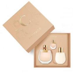 (Chloe Nomid Eau de Perfume Gift Set (75ml perfume + body lotion 100ml + 5ml sample