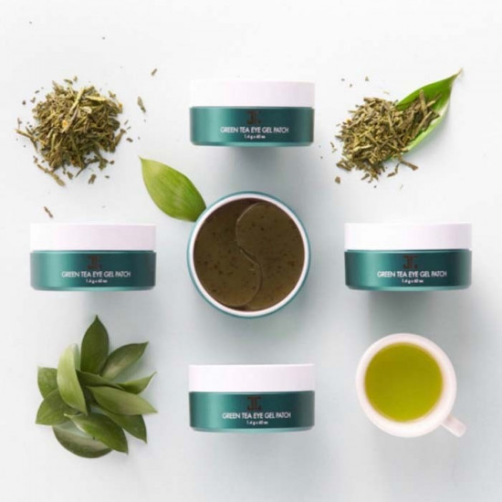 Jeon Patches Eye Gel Green Tea Extract