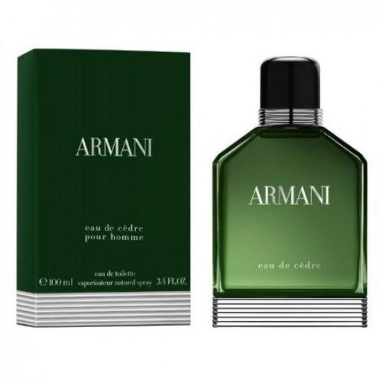 Armani eau de cedar green eau de toilette 100 ml