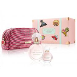 Bvlgari Rose Goldea Blossom Eau de Toilette Gift Set 100ml + perfume sample + bag